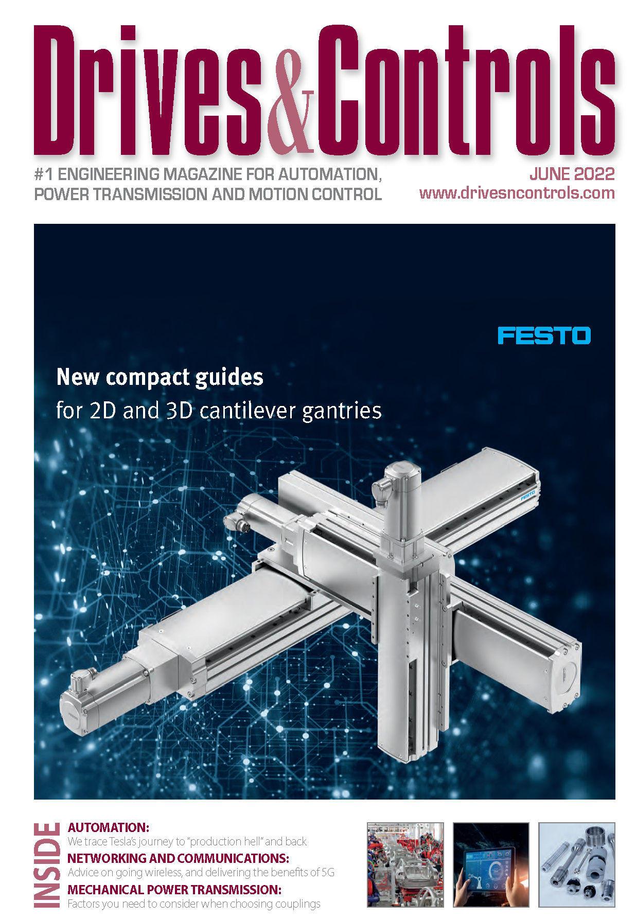 Drives & Controls Latest Issue Cover