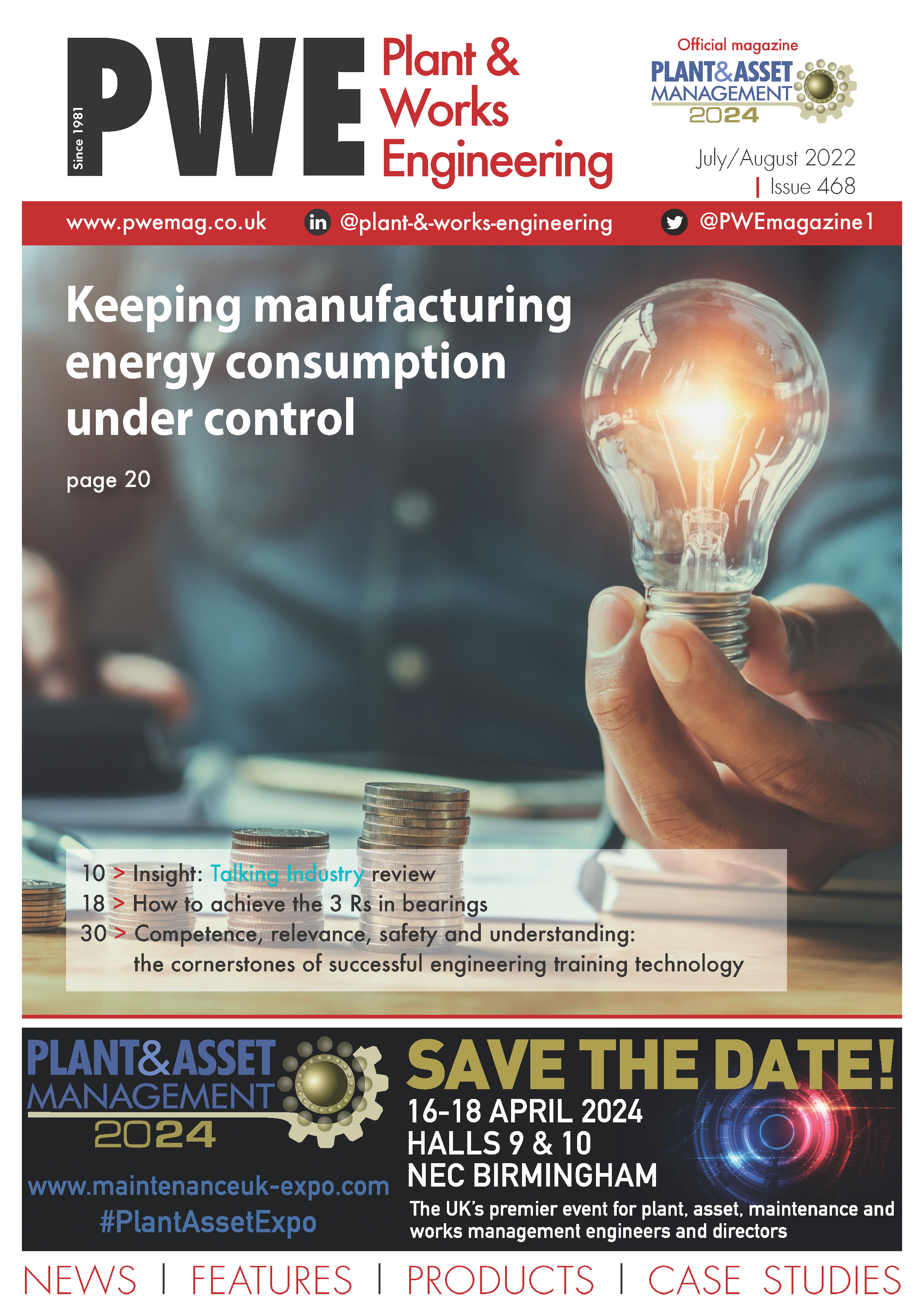 Plant & Works Engineering Latest Issue Cover